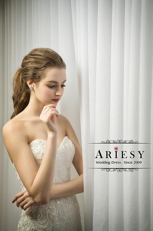 Wedding Dress,bridal,自助婚紗,手工婚紗,禮服出租,婚紗工作室,愛瑞思,拍婚紗,宴客禮服,ARIESY,婚紗外景,新娘秘書,白紗